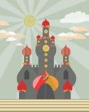 κάστρο μαγικό Στοκ φωτογραφίες με δικαίωμα ελεύθερης χρήσης