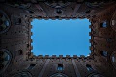 κάστρο μεσαιωνικό Στοκ Φωτογραφία