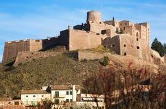 κάστρο μεσαιωνικό cardona κάστρο Στοκ Εικόνες