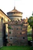 κάστρο Μιλάνο Στοκ Εικόνα