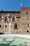 κάστρο Μιλάνο abbiategrasso Στοκ Φωτογραφία