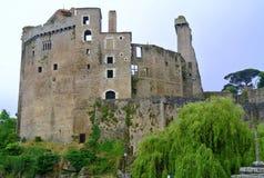 Κάστρο Νάντη Γαλλία Clisson Στοκ εικόνα με δικαίωμα ελεύθερης χρήσης
