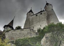 κάστρο Ντιζόν thun Στοκ Εικόνες