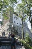 Κάστρο πίτουρου, Ρουμανία Στοκ φωτογραφία με δικαίωμα ελεύθερης χρήσης