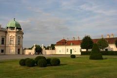 κάστρο πανοραμικών πυργίσκων Στοκ Εικόνες