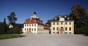 κάστρο πανοραμικών πυργίσ&ka Στοκ φωτογραφία με δικαίωμα ελεύθερης χρήσης