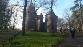 Κάστρο παραμυθιού στο UK στοκ φωτογραφία με δικαίωμα ελεύθερης χρήσης