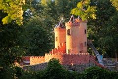 Κάστρο παραμυθιού Στοκ φωτογραφία με δικαίωμα ελεύθερης χρήσης