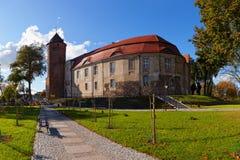 κάστρο Πολωνία swidwin Στοκ εικόνες με δικαίωμα ελεύθερης χρήσης