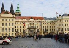 κάστρο Πράγα παλάτι βασιλικό cesky τσεχική πόλης όψη δημοκρατιών krumlov μεσαιωνική παλαιά Στοκ Εικόνες
