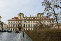 κάστρο Πράγα παλάτι βασιλικό cesky τσεχική πόλης όψη δημοκρατιών krumlov μεσαιωνική παλαιά Στοκ φωτογραφία με δικαίωμα ελεύθερης χρήσης