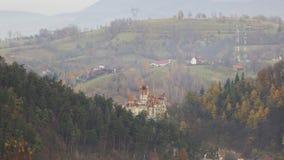 κάστρο Ρουμανία Τρανσυλ&be στοκ εικόνες με δικαίωμα ελεύθερης χρήσης