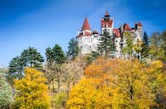 κάστρο Ρουμανία Τρανσυλ&be στοκ φωτογραφία με δικαίωμα ελεύθερης χρήσης