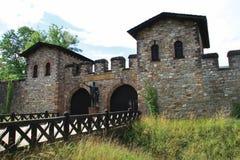 κάστρο Ρωμαίος saalburg Στοκ φωτογραφία με δικαίωμα ελεύθερης χρήσης