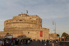 κάστρο Ρώμη Άγιος αγγέλο&upsilon Στοκ φωτογραφία με δικαίωμα ελεύθερης χρήσης