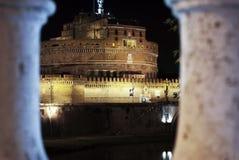 κάστρο Ρώμη ST αγγέλου Στοκ φωτογραφίες με δικαίωμα ελεύθερης χρήσης