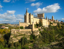 Κάστρο-σκάφος, Alcazar, Segovia, Ισπανία Στοκ εικόνα με δικαίωμα ελεύθερης χρήσης