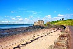 κάστρο Σκωτία μαυρίλας Στοκ φωτογραφία με δικαίωμα ελεύθερης χρήσης
