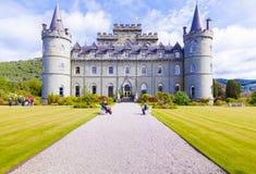 Κάστρο Σκωτία Invereray το καλοκαίρι Στοκ εικόνες με δικαίωμα ελεύθερης χρήσης