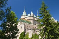 κάστρο Σλοβακία bojnice στοκ εικόνα με δικαίωμα ελεύθερης χρήσης