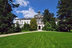 κάστρο Σλοβακία topolcianky Στοκ φωτογραφία με δικαίωμα ελεύθερης χρήσης