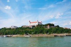 κάστρο στη Μπρατισλάβα στοκ εικόνες με δικαίωμα ελεύθερης χρήσης