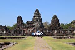 Κάστρο Ταϊλάνδη τοίχων Στοκ Εικόνες