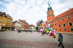 κάστρο τετραγωνική Βαρσ&omicr Στοκ εικόνα με δικαίωμα ελεύθερης χρήσης