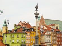 κάστρο τετραγωνική Βαρσ&omicr Στοκ Εικόνες