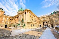 κάστρο της Βουδαπέστης β& Στοκ Εικόνες