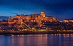 Κάστρο της Βουδαπέστης Στοκ Φωτογραφίες