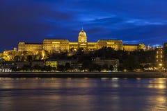 κάστρο της Βουδαπέστης buda στοκ εικόνες