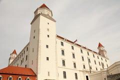 κάστρο της Βρατισλάβα στοκ εικόνα