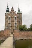 Κάστρο της Δανίας Κοπεγχάγη Rosenborg Στοκ εικόνες με δικαίωμα ελεύθερης χρήσης