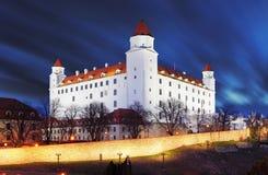 Κάστρο της Μπρατισλάβα - Σλοβακία στοκ εικόνες