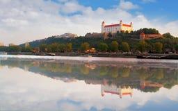 Κάστρο της Μπρατισλάβα στοκ φωτογραφίες