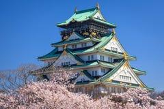 Κάστρο της Οζάκα, Οζάκα, Ιαπωνία Στοκ φωτογραφίες με δικαίωμα ελεύθερης χρήσης