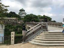 Κάστρο της Οζάκα, Οζάκα, Ιαπωνία Στοκ Φωτογραφίες