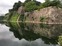 Κάστρο της Οζάκα, Οζάκα, Ιαπωνία Στοκ φωτογραφία με δικαίωμα ελεύθερης χρήσης