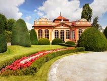 Κάστρο της Πράγας, κήπος παλατιών Czernin Στοκ εικόνες με δικαίωμα ελεύθερης χρήσης