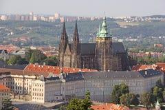 Κάστρο της Πράγας Στοκ εικόνα με δικαίωμα ελεύθερης χρήσης
