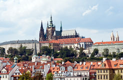 Κάστρο της Πράγας Στοκ εικόνες με δικαίωμα ελεύθερης χρήσης