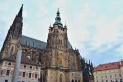 Κάστρο της Πράγας Στοκ φωτογραφίες με δικαίωμα ελεύθερης χρήσης