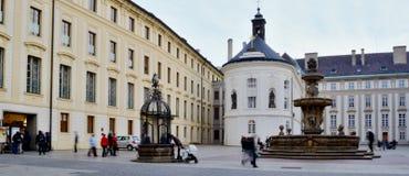 Κάστρο της Πράγας Στοκ Εικόνες