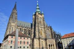 Κάστρο της Πράγας Στοκ φωτογραφία με δικαίωμα ελεύθερης χρήσης