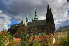 Κάστρο της Πράγας, HradÄ  οποιοιδήποτε, Πράγα, Δημοκρατία της Τσεχίας Στοκ εικόνες με δικαίωμα ελεύθερης χρήσης