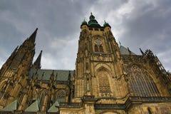 Κάστρο της Πράγας, HradÄ  οποιοιδήποτε, Πράγα, Δημοκρατία της Τσεχίας Στοκ Εικόνες