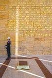 κάστρο Τουρκία της Άγκυρας Στοκ φωτογραφία με δικαίωμα ελεύθερης χρήσης