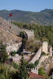 κάστρο Τουρκία alanya Στοκ Φωτογραφία