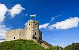 κάστρο του Κάρντιφ Στοκ Φωτογραφίες